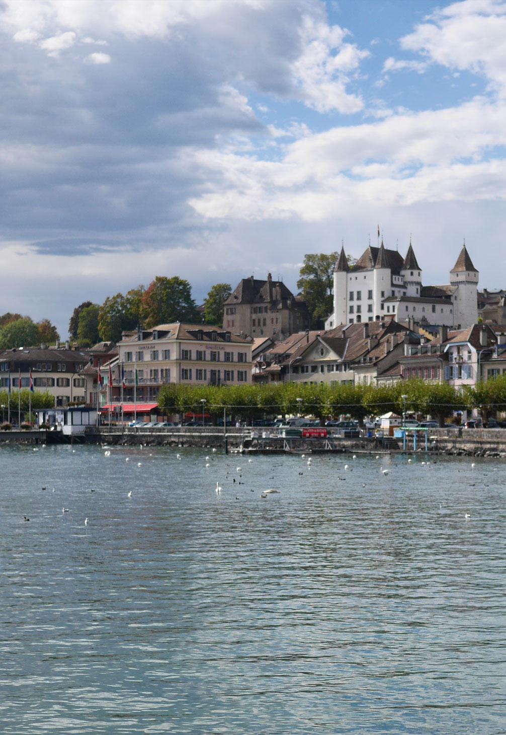 Château de Nyon le jour Restaurant Léman Nyon